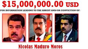 Estados Unidos pone precio a Nicolás Maduro: 15 millones de dólares