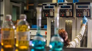El laboratorio de Repsol en Móstoles (Madrid).