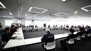 Reunión del grupo de trabajo que debe decidir las nuevas fechas de...