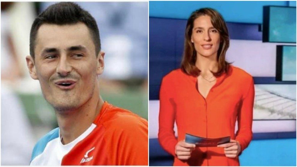 Tomic y Andrea Petkovic