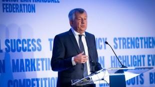 Michael Wiederer, presidente de la Federación Europea de Balonmano /