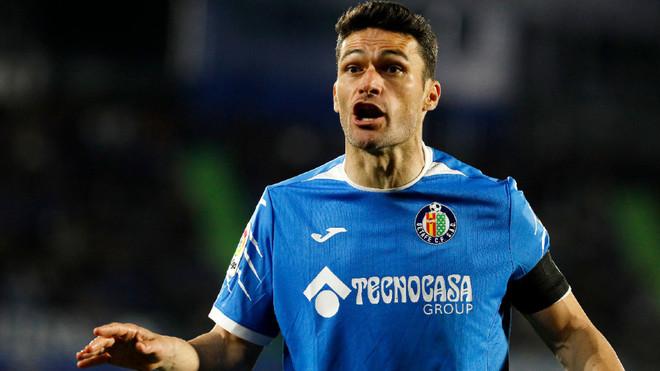 Jorge Molina, durante un partido de esta temporada.