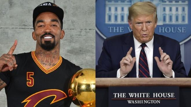Un jugador de la NBA trató de payaso a Trump