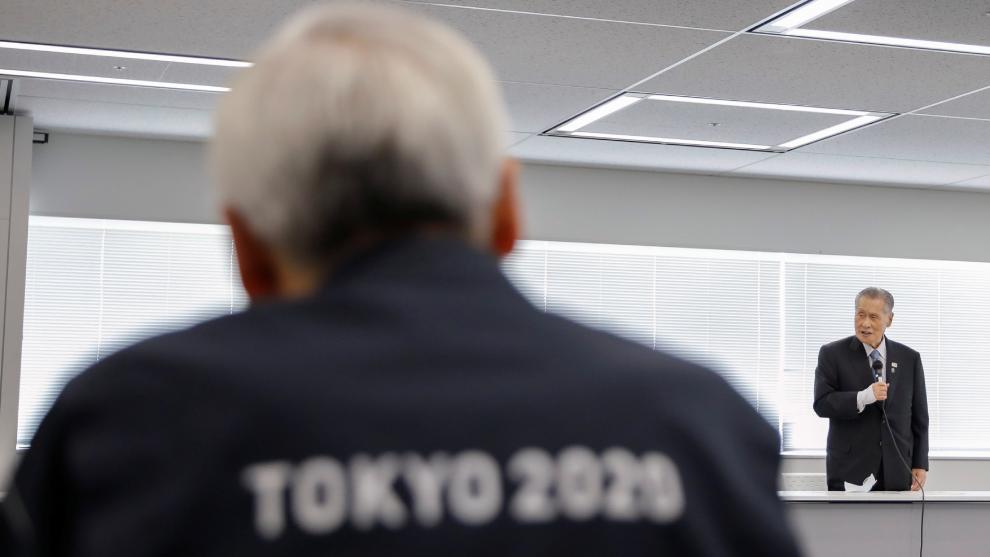 Yohiro Mori, presidente del Comite Organizador de Tokyo 2020 quiere...
