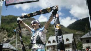 Maite Maiora, Maite Maiora, tras entrar como ganadora del maratón del...
