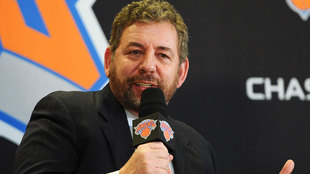 James Dolan, dueño de los New York Knicks