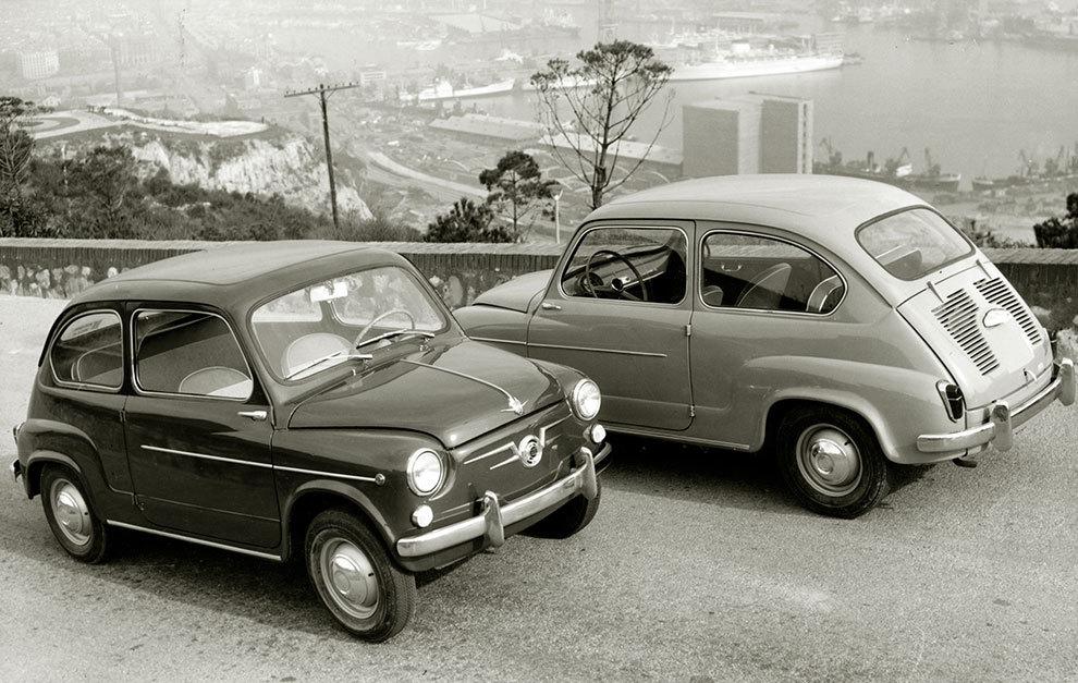 La proliferación de Seat 600 a finales de los años 50, como durante los 60, fue increíble.