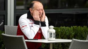 Vasseur, tras la cancelación del Gran Premio de Australia.