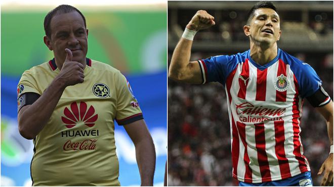 Cuauhtémoc Blanco y Jesús Molina.