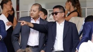 Anil Murthy y Kim Koh.