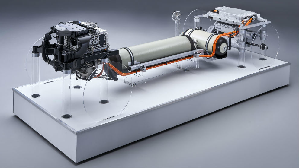 BMW Group muestra el tren motriz del BMW i Hydrogen NEXT