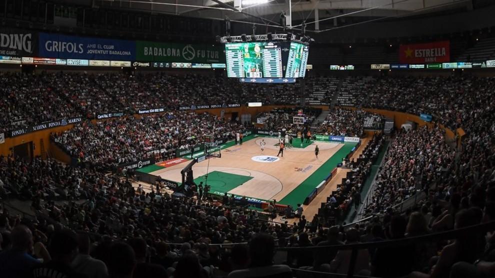 El Olímpico de Badalona, lleno hasta la bandera en un partido del...
