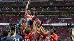 Godín, el mejor central de la historia del Atlético