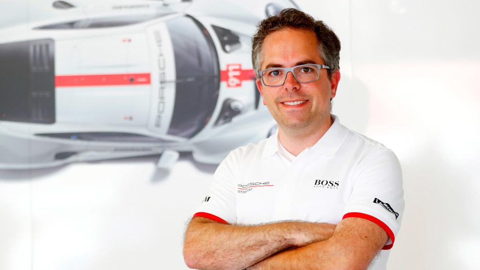 Pascal Zurlinden director de competición de Porsche Motorsport