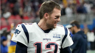 Tom Brady tras la Super Bowl LIII.