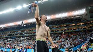 Maxi Rodríguez ha estado en las peores eliminaciones de la selección...