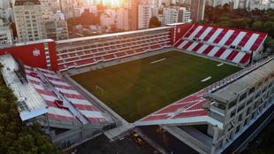 Panorámica del estadio Jorge Luis Hirschi-