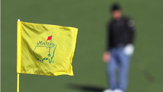 Bandera en un hoyo de Augusta.