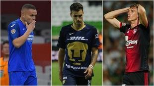 Jugadores de la Liga MX.