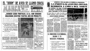 Los 50 partidos de la historia: Portugal 5-3 Corea del Norte, Mundial 1966