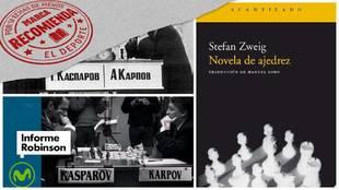 Por si echas de menos el deporte: novela de ajedrez y la mayor batalla intelectual del deporte
