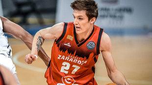 Vit Krejci, jugador del Basket Zaragoza
