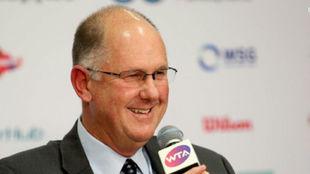 Steve Simon, presidente de la WTA