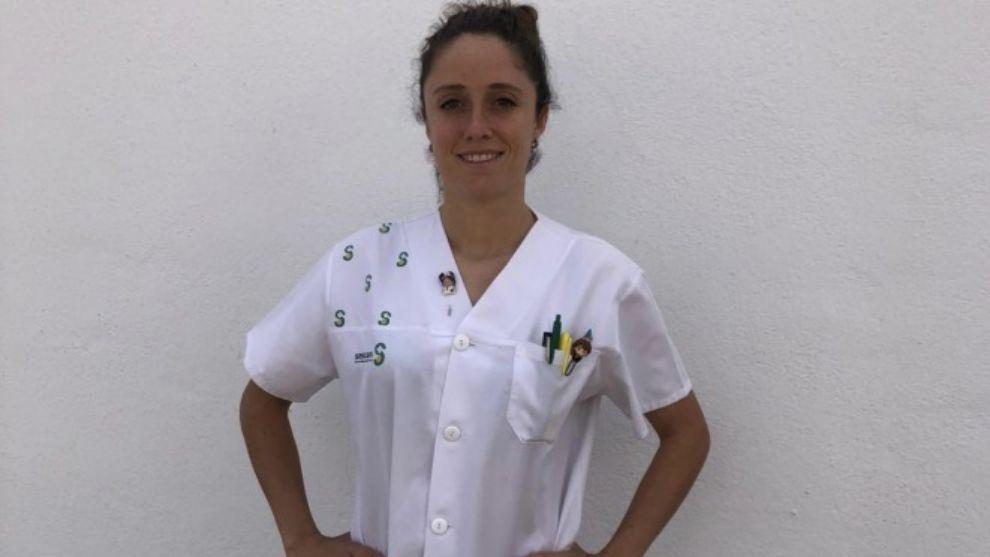 Matilde Martínez, capitana del equipo Fundación Albacete Femenino,...