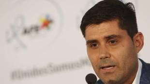 David Aganzo, presidente de la Asociación de Fútbolistas Españoles
