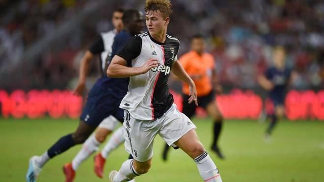 Matthijs De Ligt, en un partido con la Juventus.