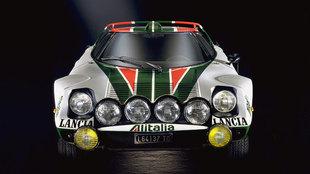 Pocos modelos ha habido con un frontal tan afilado como el del Lancia...