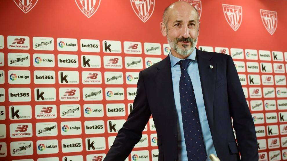 Elizegi, presidente del Athletic.