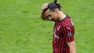 Ibrahimovic, con el Milan esta temporada