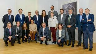 Miembros del Consejo Asesor del Deporte Español (CADE).