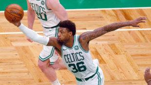 Marcus Smart, jugador de los Boston Celtics
