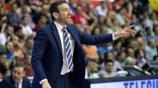 Ibon Navarro, entrenador del MoraBanc Andorra.