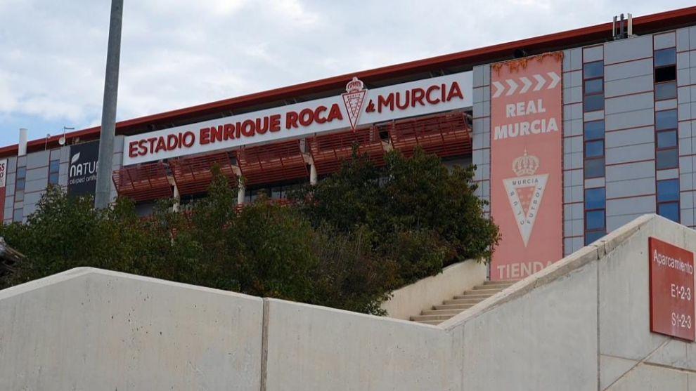 El estadio Enrique Roca ya está totalmente preparado para recibir a...