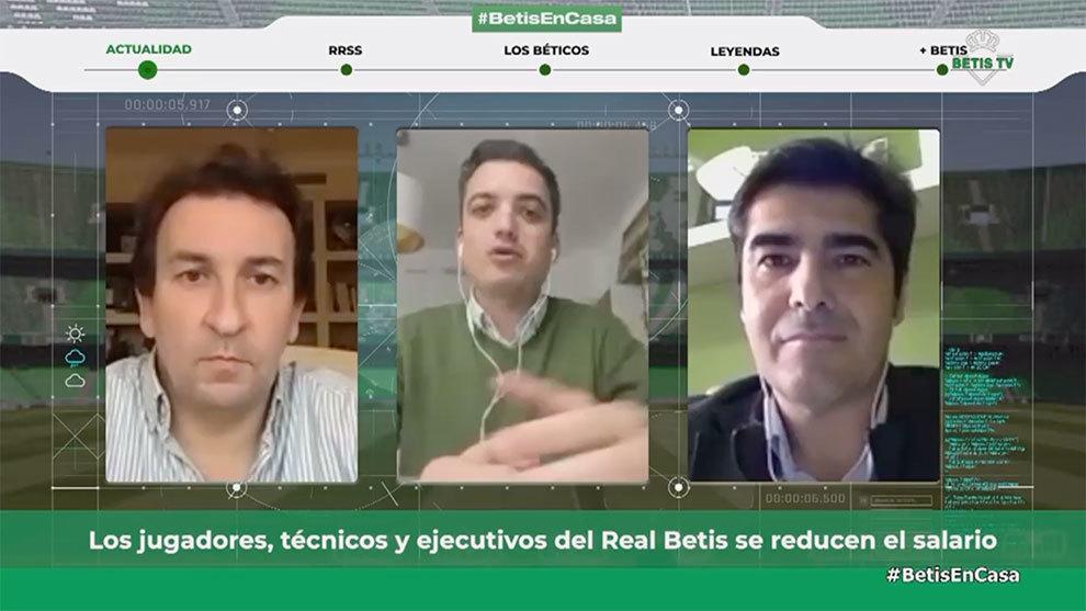 Haro y Catalán, en videoconferencia