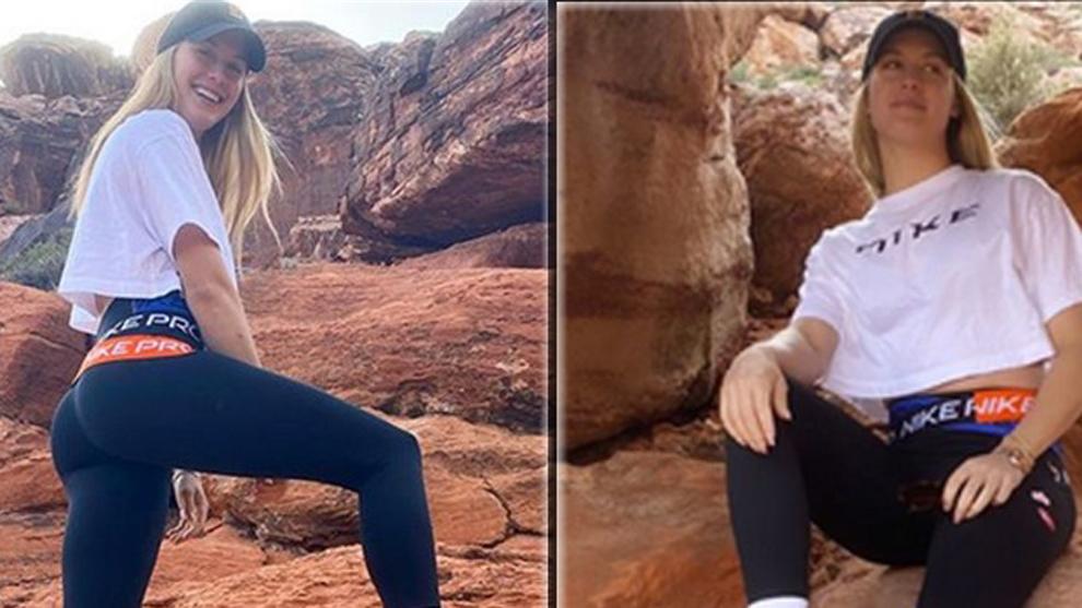 Eugenie Bouchard se escapa al desierto para cumplir con la \