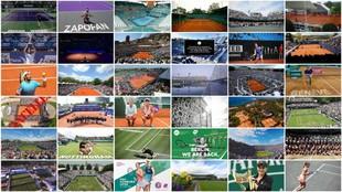Los 34 torneos suspendidos por el coronavirus