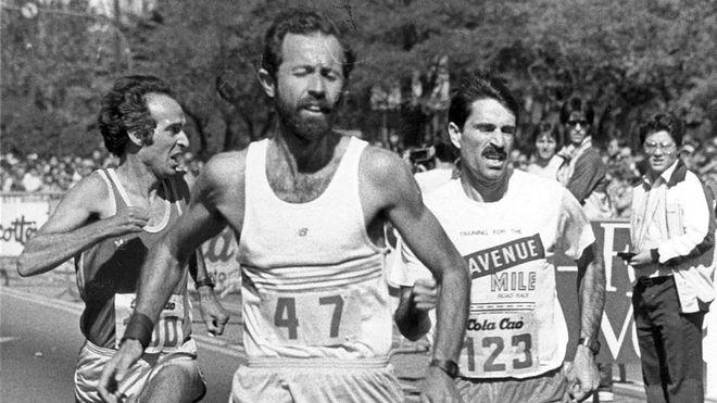 Jorge González Amo, en carrera