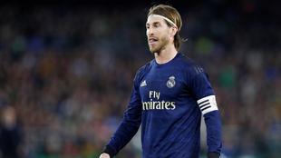 Sergio Ramos contestó a un publicación del Ajax.