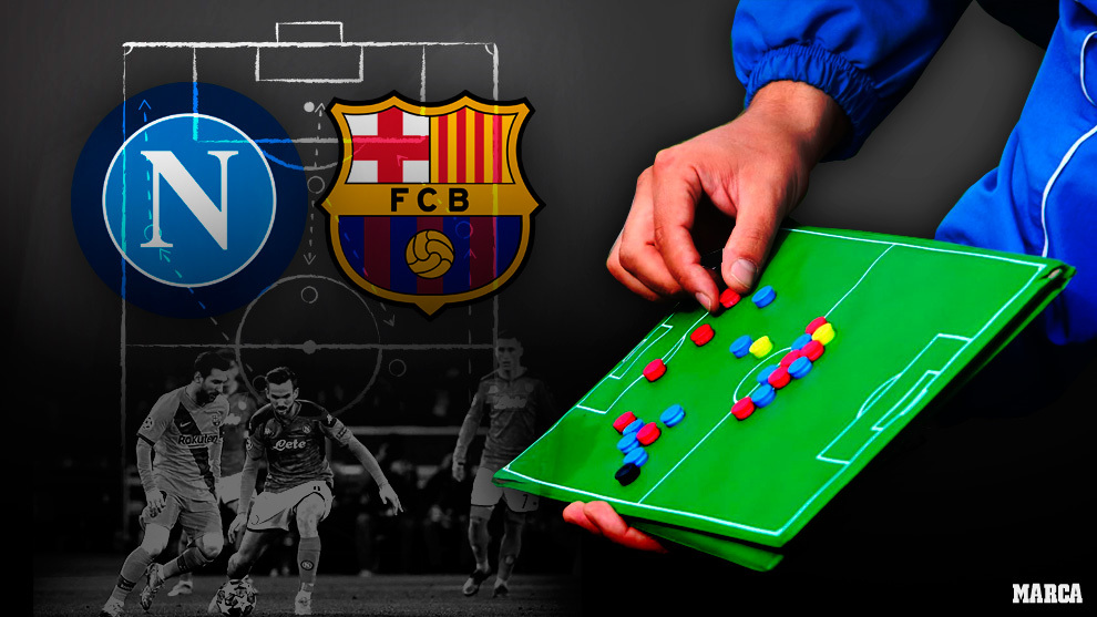 Barcelona: How to beat Napoli: Exploit space in between the lines and stop Fabian