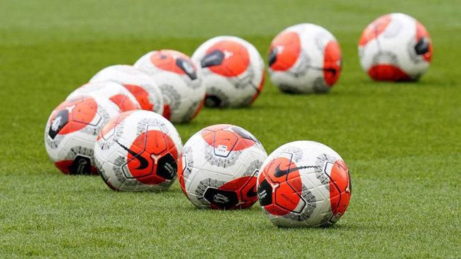 Balones de la Premier League.