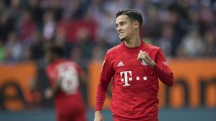 Coutinho, en un partido con el Bayern.