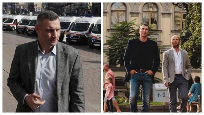 Klitschko brothers are fighting coronavirus together