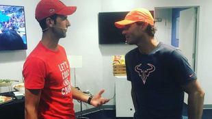 Djokovic y Nadal hablan