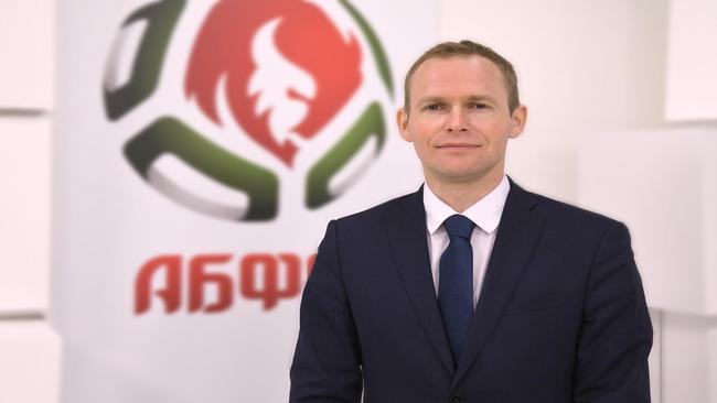 Sergei Zhardetski, secretario general de la federación de fútbol de...