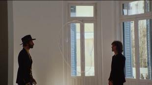 Leiva y Rubén Pozo, en una imagen del vídeoclip de la canción...