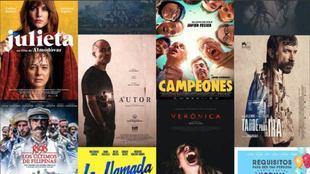 Algunos de los títulos que emitirá TVE en la plataforma Somos Cine